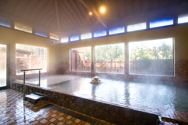 華の番台の大浴場
